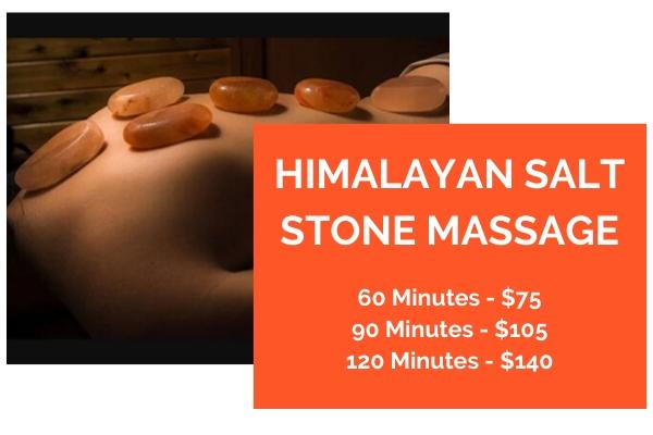 Lake Powell AZ Himalayan Salt Stone Massage